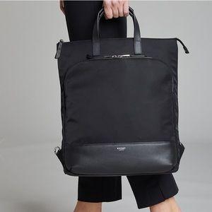 NWT Knomo Harewood convertible laptop tote black